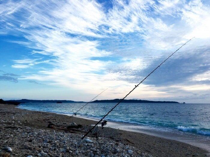 サーフ(砂浜)で行うキスの投げ釣り