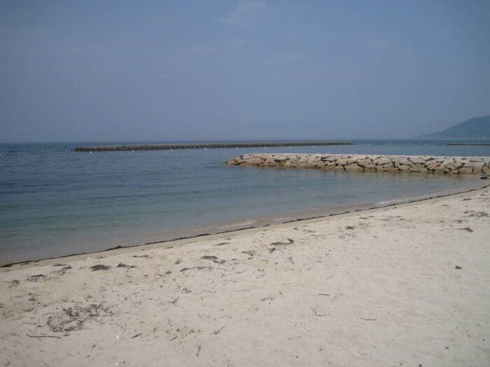 キスの釣り場となる砂浜(サーフ)