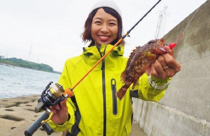 カサゴとアイナメのブラクリ釣り
