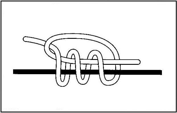 ウキ止め糸の結び方(3)