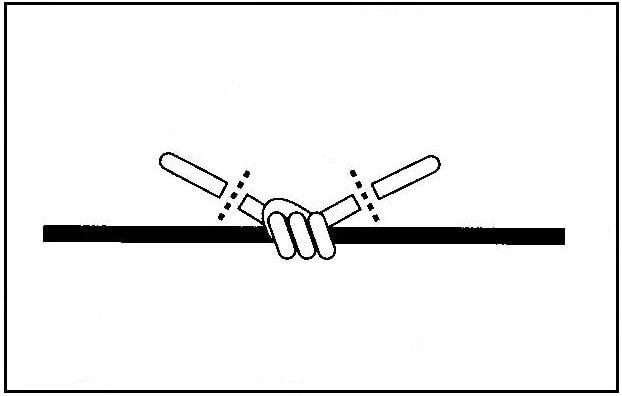 ウキ止め糸の結び方(4)