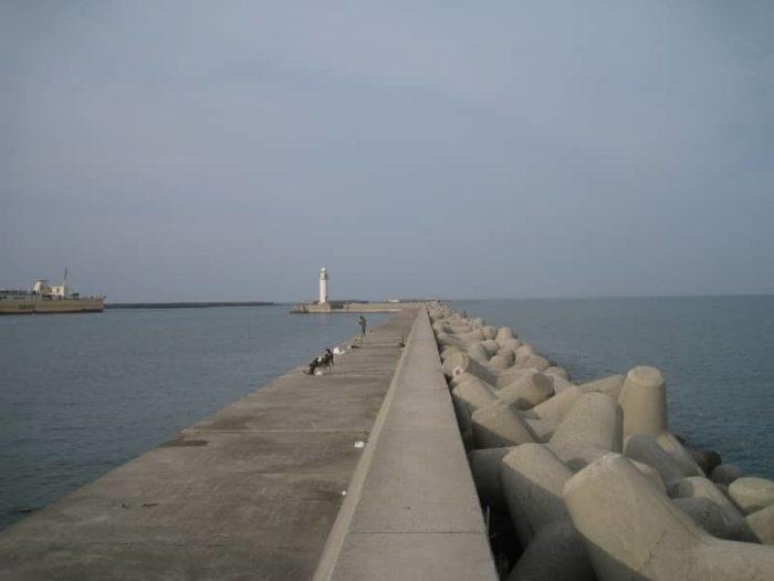 防波堤の一例
