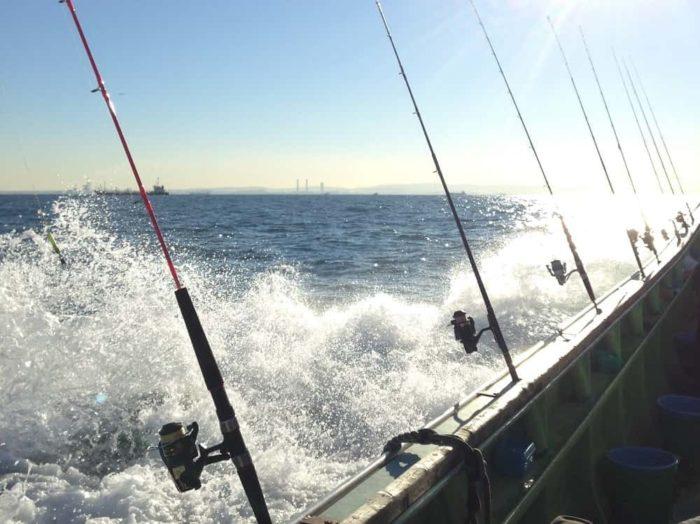 沖の船釣り