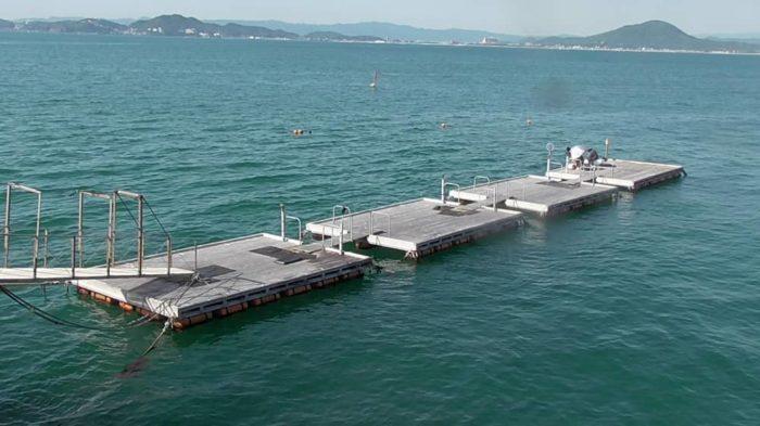 有料釣り施設の一つ『筏』