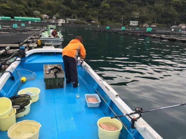 有料釣り施設の一つ『カセ』